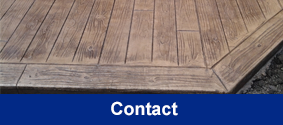 Wood Stamped Concrete - Building Supplies